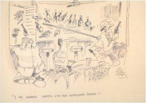Lombard - A Original cartoon by Bill Tidy MBE